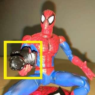 1/12 Camera For Marvel Legends Dc Universe Shf Sh Figuarts Revoltech Head Mafex Spider-Man Spiderman
