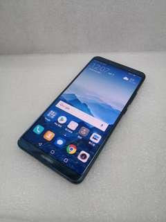 Huawei Mate 10 Pro 128Gb (Blue) 90% New, 淨機,連保養單!