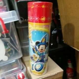 Coca Cola 可口可樂 - 日本Disney 海洋世界10週年樽連筒