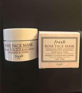 Fresh Rose Face Mask -