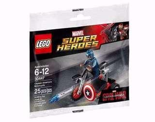LEGO 30447 Super Heroes Captain America's Motorcycle (MISP)
