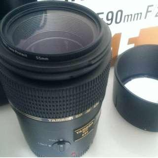TAMRON 90mm SP AF f2.8 marco for canon