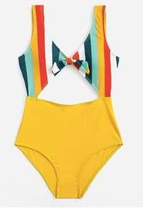 One piece cutout swimsuit