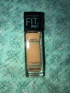 Matte fit me foundation new