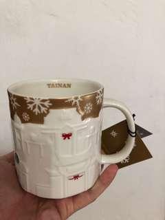 Tainan Gold Relief Starbucks Mug