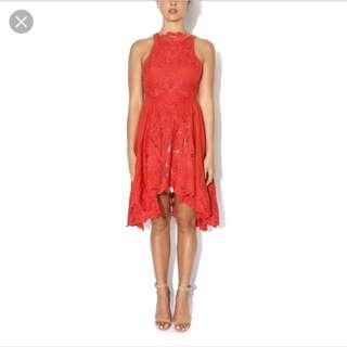 BNWT Thurley 'Alma' Dress. Size 8. Colour is called 'lipstick'
