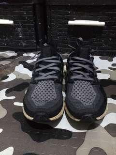 Adidas Ultraboost V2 grey size 8.5 pureboost yeezy presto