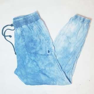 VOLCOM - Size 10 - Light Blue Tie Dyed Pants