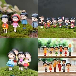 Anime Cartoon: Chibi Maruko-chan 小丸子/ Terrarium Figurines