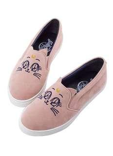 Gracegift x Sailor moon Luna Slip on 露娜平底鞋