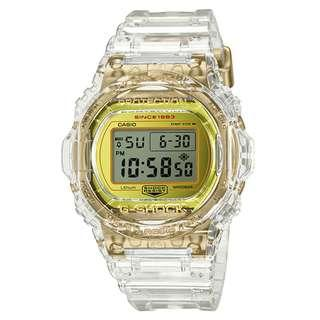CASIO G-SHOCK DW-5700 series DW-5735E-7 35週年 35th Anniversary 冰川金 GLACIER GOLD 限量 LIMITED MODELS GSHOCK DW5735E