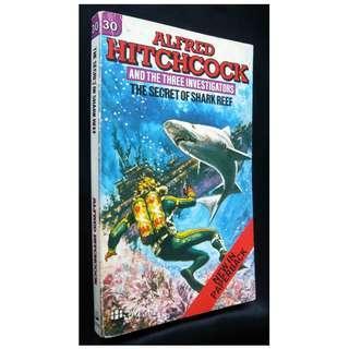 Three Investigators #30 The Mystery of Shark Reef Book