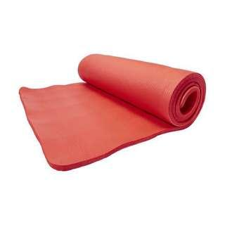 Red Fitness Mat