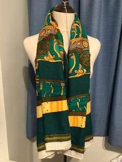 Hermes cashmere shawl 140 x 140cm scarf