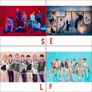 bts love yourself : answer posters