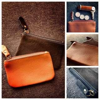 High Cowhide Leather Pouch
