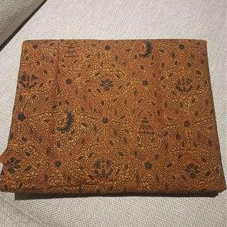 Kain batik cetak motif Sido Mukti 240 x 100 cm