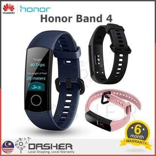 [LATEST!] HUAWEI HONOR BAND 4 AMOLED SMART BAND COLOR TOUCH SCREEN 0.95 INCH WATERPROOF WRISTBAND HEART RATE TRACKER