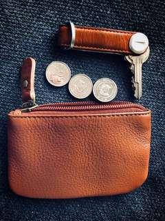 🚚 100% Cowhide Leather Multi-use Pouch
