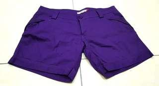 Purple hort Pants