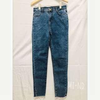 全新💫超美牛仔彈性長褲❤️❤️❤️  原價590