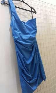 One Shoulder Tube Dress