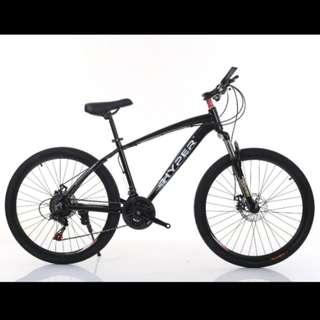 Promo-Brand new 26'' Mountain Bike, with Shimano 21 speed Shifter,front and back Disc brakes,Suspension etc