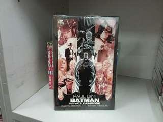 美國漫畫 蝙蝠俠 BATMAN PRIVATE CASEBOOK Paul Dini作品 DC出版 硬皮書