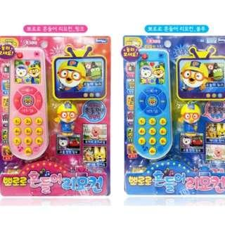 Pororo Laugh & Learn Learning Remote Toy(Pink & Blue)