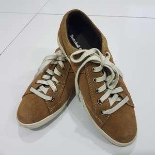 (REDUCED) Timberland Velvet Shoes   Brown   EU 37.5   UK 4.5   US 6.5  