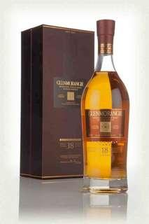 Glenmorangie 18 yo (discontinued) single malt whisky