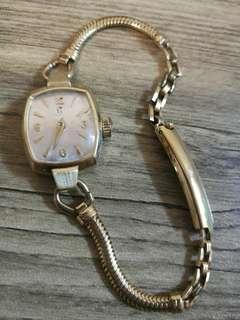亞米加女裝古董機械錶
