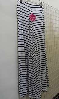 Black Stripes Square Pants