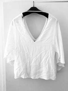 Classy white top