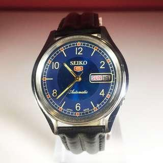 80s Seiko 5 Automatic 17 Jewels Watch
