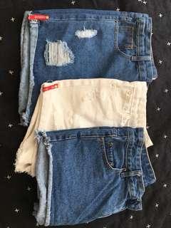 x3 shorts