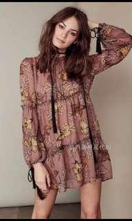 Floral CNY Dress