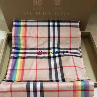 Burberry Rainbow Classic Scarf