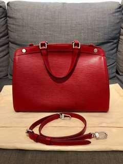 ($990 today) 100% Authentic LV Brea MM Epi Red