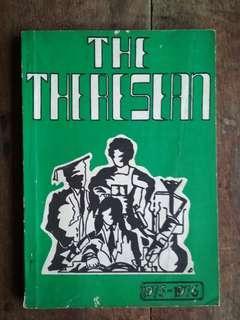 Majalah Sekolah Menengah St. Theresa, Sg. Petani