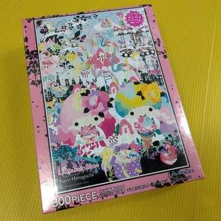 Little Twin Stars kiki lala 雙子星 300 Pieces 砌圖 Puzzle kayo horaguchi 合作款