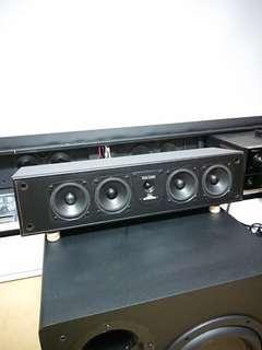 center channel dialog speaker 5way