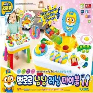 Pororo Table Educational Cooking Play / Role Play / Play Food