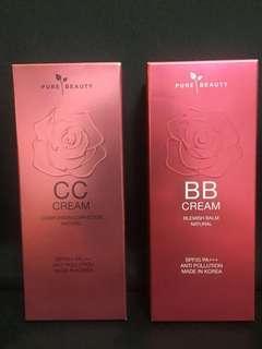 Pure Beauty BB CC cream