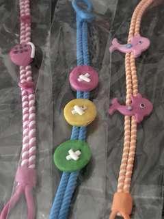 3pcs adult to children's bracelet  + free postage !