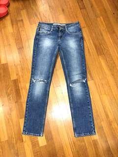 Topshop Petite Baxter Jeans