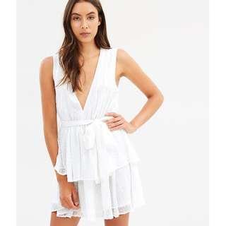 💎 Lioness Summer Fling Dress White