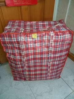 紅白藍尼龍袋 搬屋大膠袋