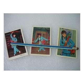 陳寶珠民族服裝彩照2R 3張 懷舊明星相片老舊照片