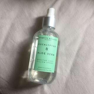 Eucalyptus + Aloe Vera Pillow Spray